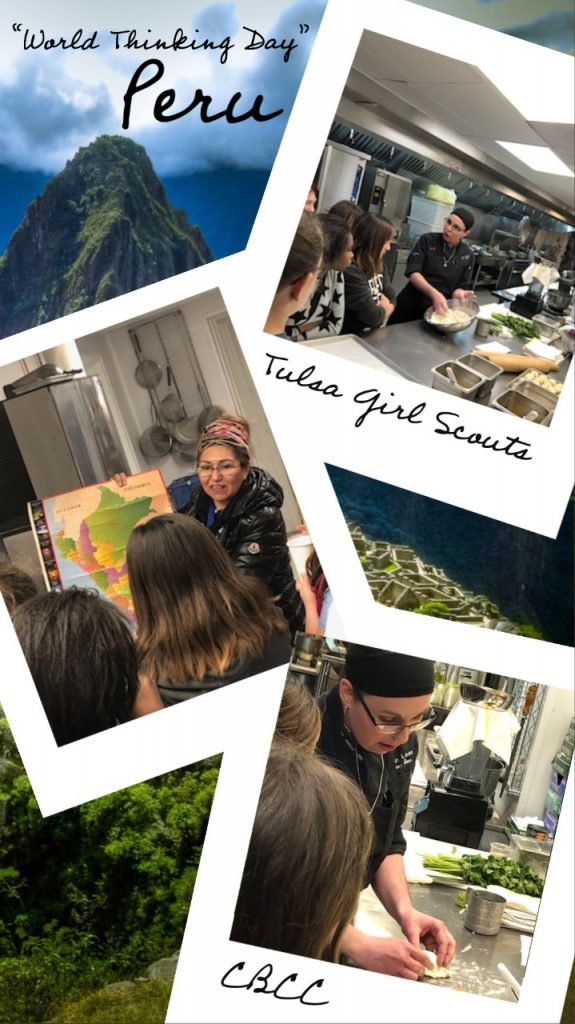 CBCC Girl Scouts World Thinking Day Peru