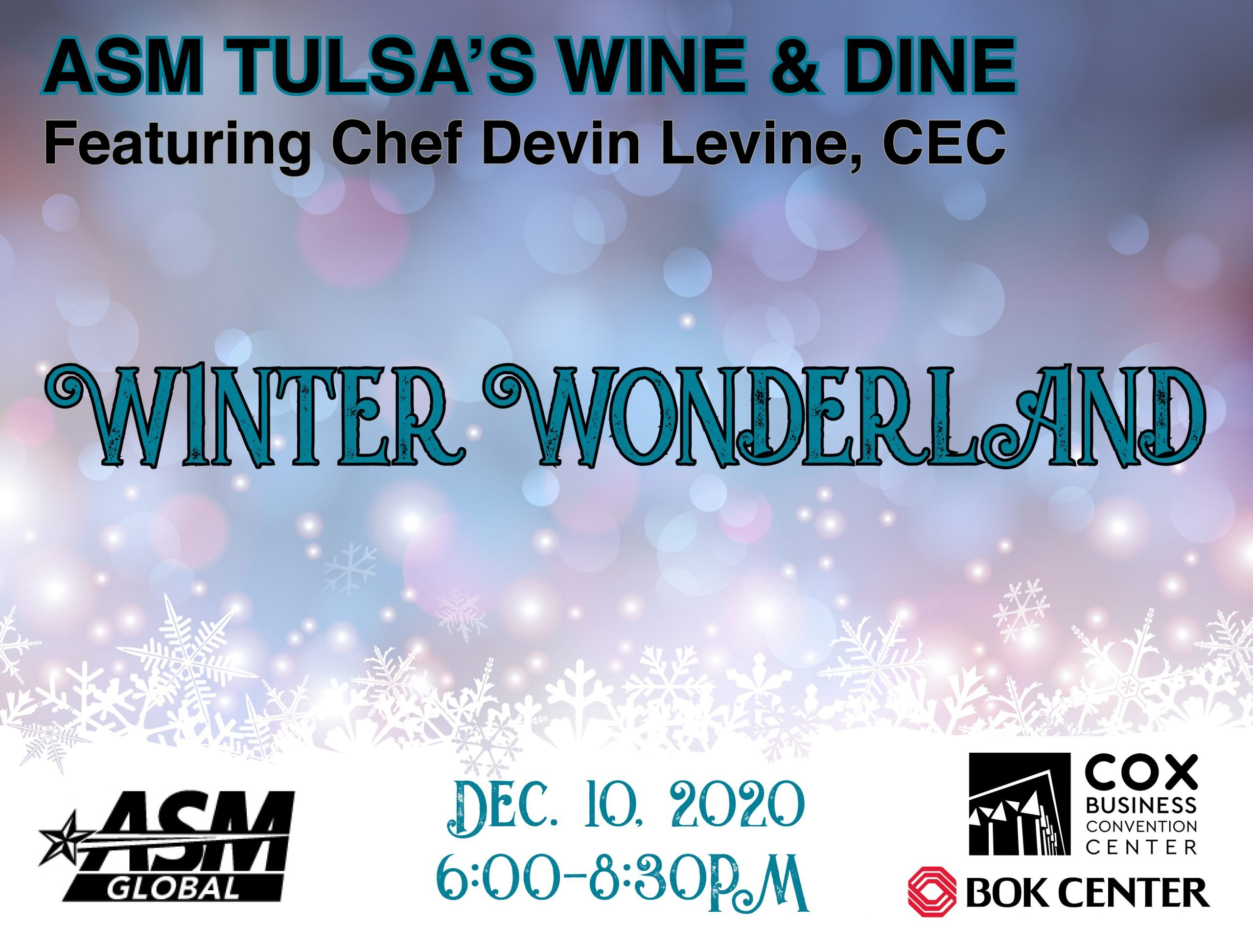 ASM Tulsa Winter Wonderland Wine and Dine